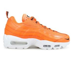 Mens-NIKE-AIR-MAX-95-PRM-Total-Orange-Trainres-538416-801