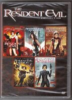 Resident Evil 1, 2, 3, 4 & 5 - Dvd Movie Collection Brand