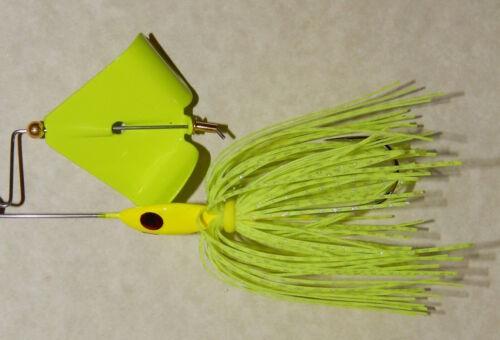 1//2 Oz Custom Made Head Thumper Buzzbait -Bass Fishing-NEW Chart.//Chart. Blade