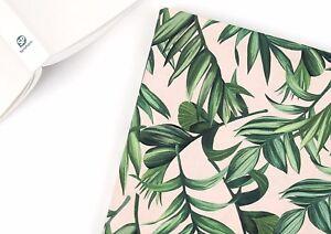 Leaf-and-Leaf-100-Cotton-Fabric-By-Half-Yard-Green-Plant-Digital-Print-jc9-13