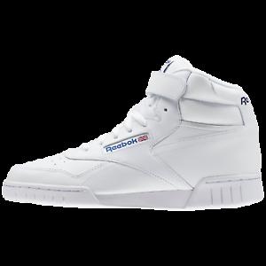 quality design 70d32 0677d Dettagli su REEBOK Classics Ex-o-fit Hi 3477 Sneakers ALTE moda Col. TOTAL  WHITE NEW