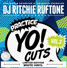 "DJ RICHIE RUFTONE PRACTICE YO CUTS VOLUME 2 COLOURED 12"" VINYL - WHITE"