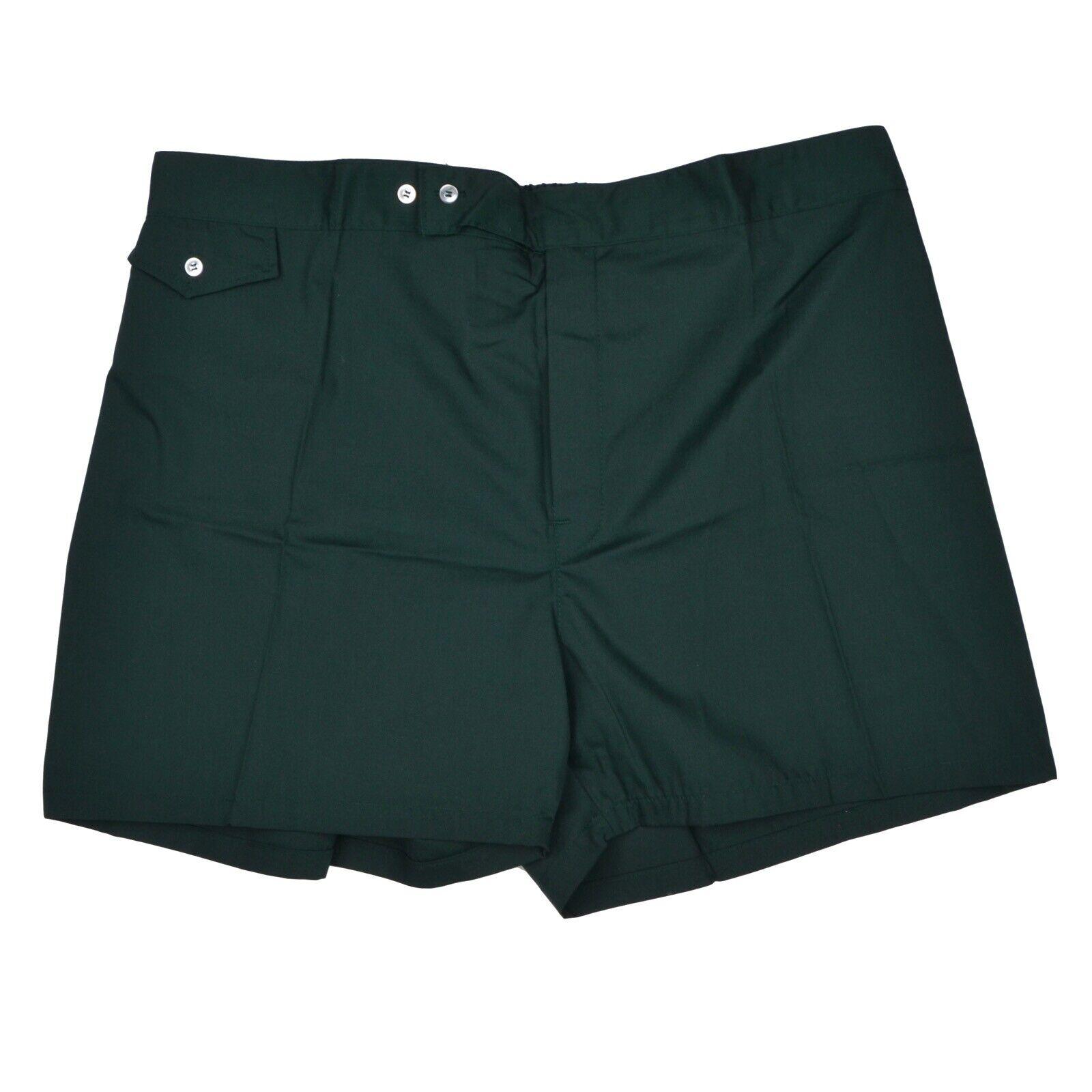 NEU VINTAGE Badehosen Swim Shorts Gr XL Made in USA green Green Baumwolle Polyest