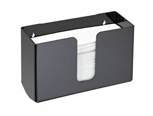 Details About Alpine Industries Black Wall Mounted Paper Towel Dispenser Napkin Holder