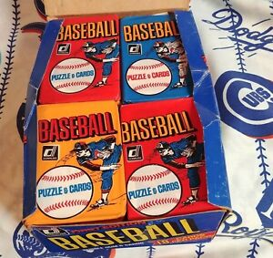 1981-Donruss-Baseball-Box-I-Packed-Up-With-Variation-Fun-Bag-Wrappers-36-Pks