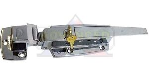 High Quality Walk-In Cooler Freezer Chrome Flush Door Latch Handle w/Keys CHG