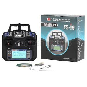 Flysky-FS-i6-2-4G-6ch-RC-Remote-Controller-FS-I6-Transmitter-amp-iA6-Receiver-LCD-an