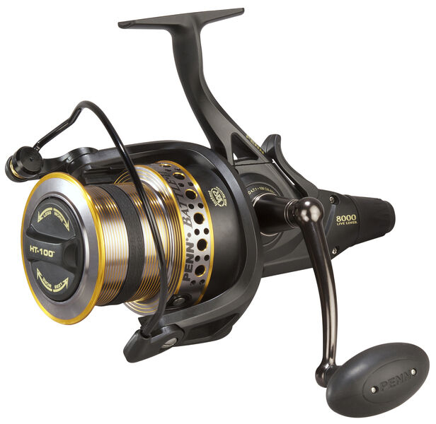 PENN NEW Battle II - Long Cast Freespool Live Liner 8000 Freespool Cast Carp/ Sea Reel 5377c7