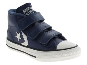 scarpe converse bambino blu
