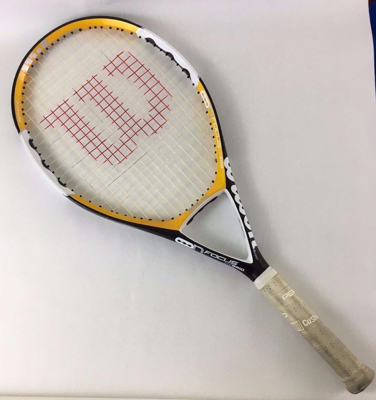 Wilson N Focus Hybrid Oversize Tennis Racquet 4 1 4