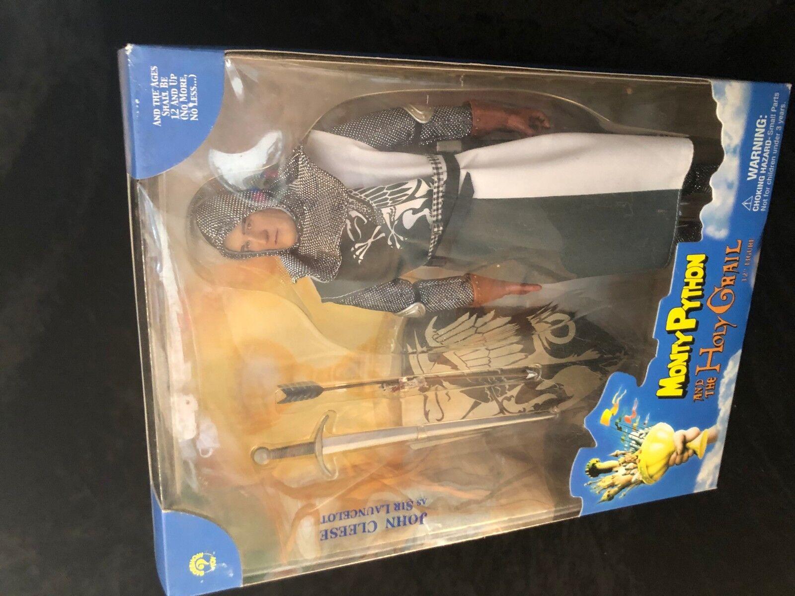 Vintage Monty Python Holy Grail Sir Lancelot Action Figure MIB 2002