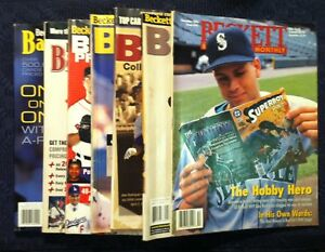 Details About Seven Beckett Magazines All Alex Rodriguez Covers Baseball Card Price Guides
