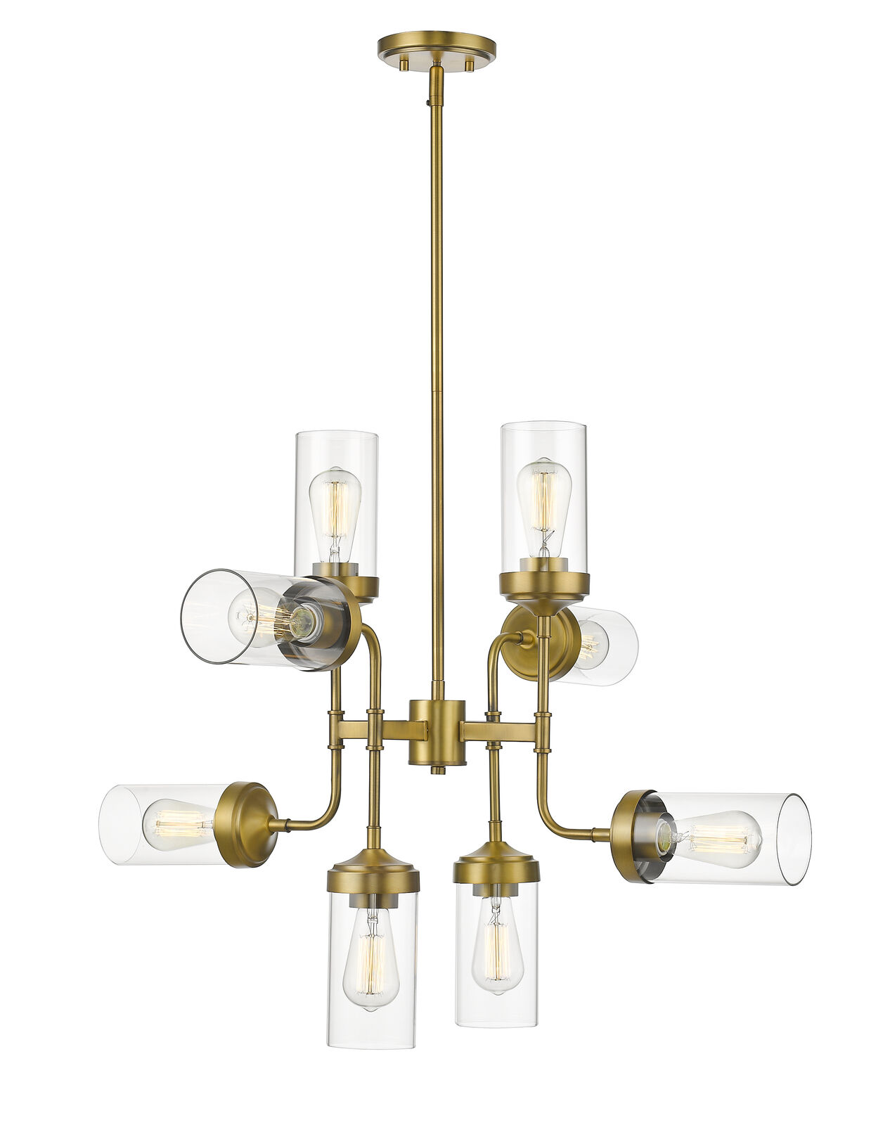 8 Light Pendant - 617-8FB