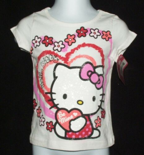 Valentine/'s Hello Kitty Be Mine Infant//Toddler T-Shirt AVAILABLE 12m, 18m, 24m