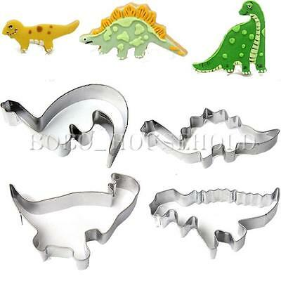 Stainless Steel Dinosaur Animal Party Baking Fondant  Biscuit Cookie Cutter Cake