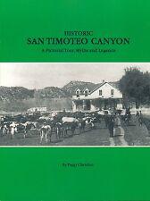 Historic San Timoteo Canyon Peggy Christian History California Antique Vtg Photo