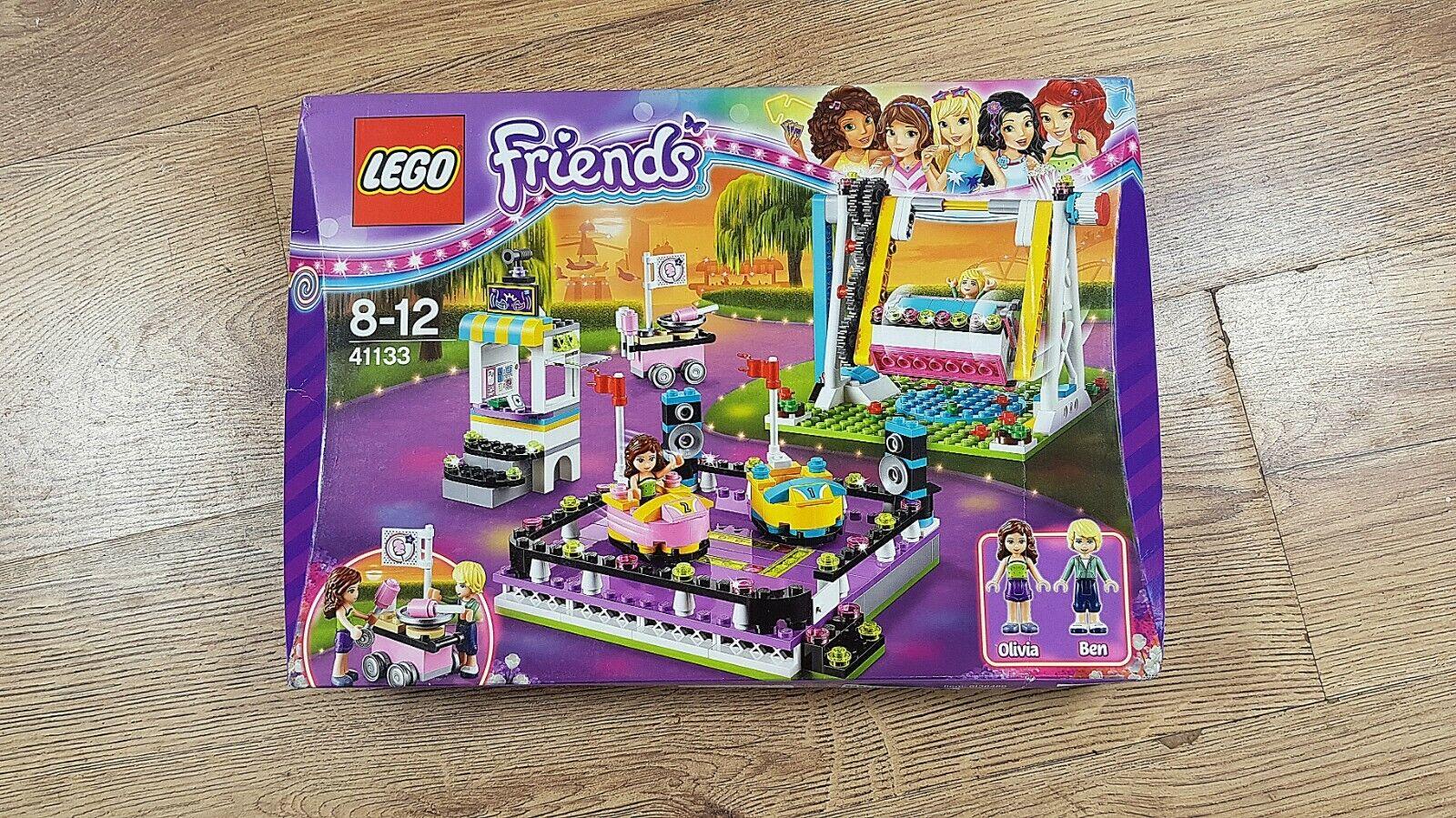 LEGO  Friends 41133 parc d'attractions pare-chocs voitures   Nouveau, non ouvert, très bon état  expédition rapide