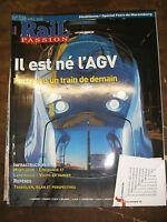 Rail Passion N°126 2008 AGV Transilien Fire de Nuremberg Montluçon Volvic Train