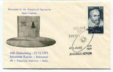 1971 Geburststag JOhannes Kepler Astronom Geophysic Weltraum Berlin Treptow NASA