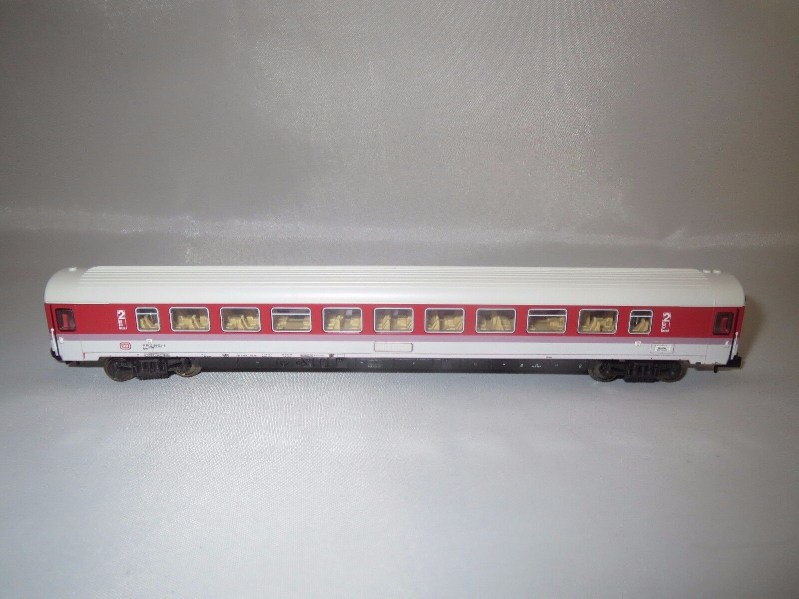 Trix 13383 Spur N DB IC Gros spazio auto 2. classe OVP