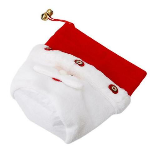 Christmas Gift Bag Sack Drawstring Santa Claus Snowman Elk Wrap Candy Bags C
