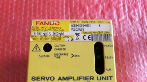FANUC SERVO AMPLIFIER A06B-6093-H101 FREE EXPEDITED SHIPPING Refurbished
