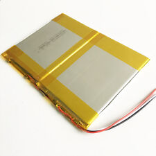 3.7V 6000mAh 40140100  li po li-ion Polymer Battery For Power Bank Tablet PC PAD