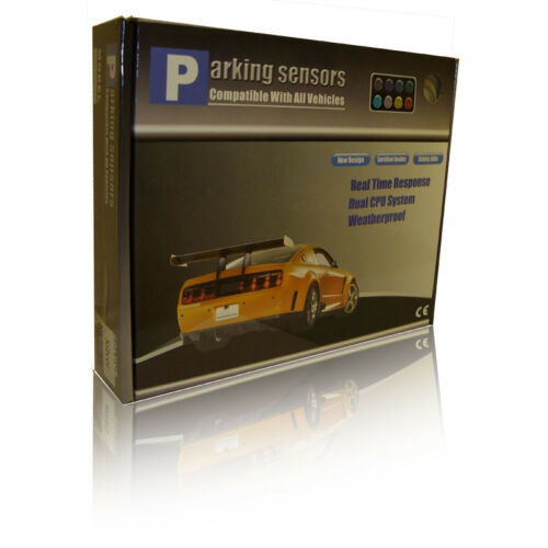 Rear 4 Point Reversing Parking Sensor Kit Buzzer Ultrasonic For VW Gti
