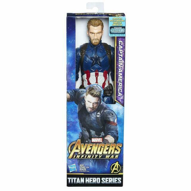 Marvel Infinity guerre Titan Hero série Thor et Captain America