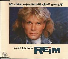 MATTHIAS REIM Ich Hab Nich So Auf Disch Gefreut 3TRX CD Single SEALED USA Seller