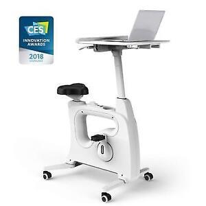 Flexispot Home Office Furniture Exercise Desk Bike Height Adjustable  Standing