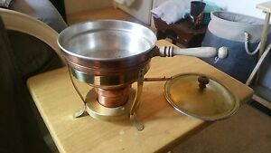 Antique chafing dish from the 60's