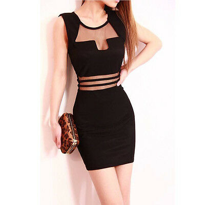 Fashion Womens Bandage Bodycon Evening Sexy Party Cocktail Short Mini Dress