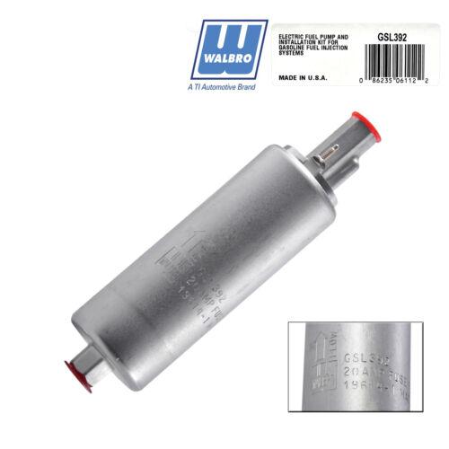 Genuine Walbro TI  High Pressure External Inline 255LPH Fuel Pump GSL392