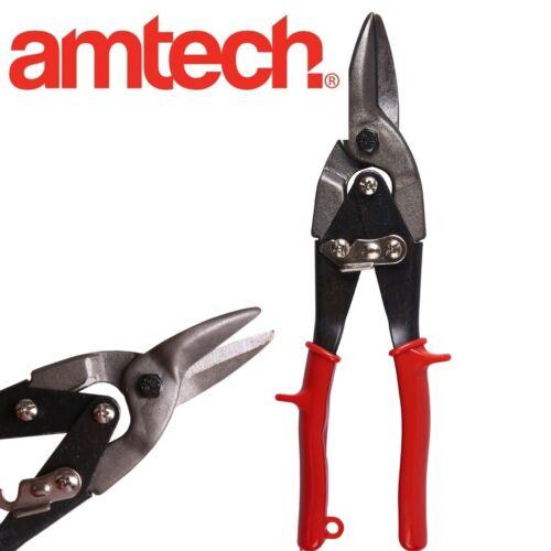 "Large 10/"" AVIATION TIN SNIPS 250mm Metal Sheet Panel Cutters Straight Cut Shears"