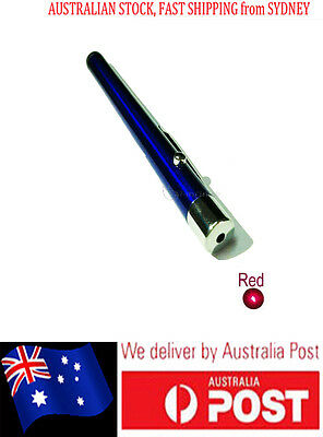 AU FastPostage New Powerful Light Pen Laser Pointer 1mW Red Light 650nm BLUE pen
