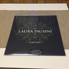 "LAURA PAUSINI & KYLIE MINOGUE ""LIMPIDO"" LP VINYL 180gr LTD ED  PICTURE DISC 0237"