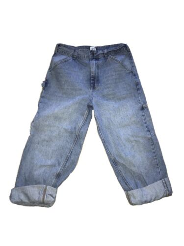 URBAN OUTFITTERS BDG CARPENTER JEANS BLUE SIZE 32