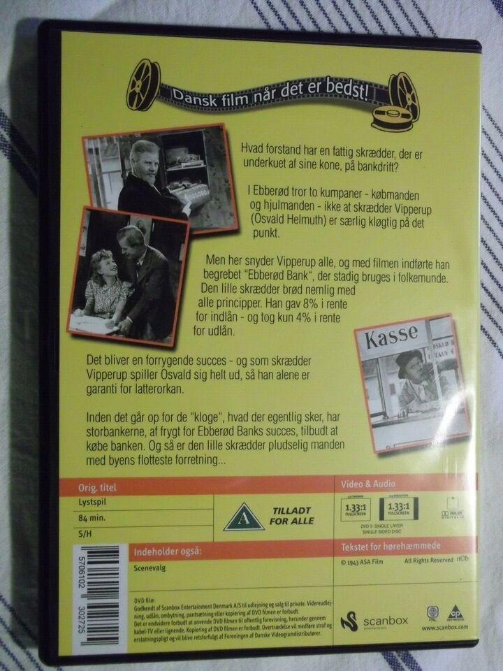 Ebberød Bank, instruktør Osvald Helmuth, DVD