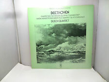 BEETHOVEN QUARTET NO 7 IN F MAJOR OP 59 BUSCH QUARTET CBS 61888  LP  VINYL