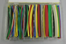 133 Pc 6 Heat Shrink Tubing Kit 7 Colors 332 To 12