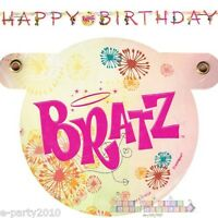 Bratz Fashion Pixiez Happy Birthday Banner Party Supplies Room Decorations