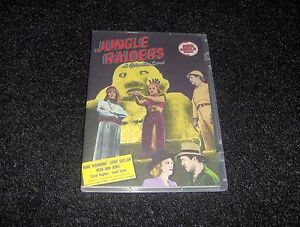 JUNGLE RAIDERS CLIFFHANGER SERIAL 15 CHAPTERS 2 DVDS