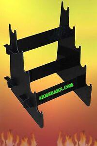 display Case 9mm /& up Business Hand Gun Table-Top Stand Safe Rack Gun Show