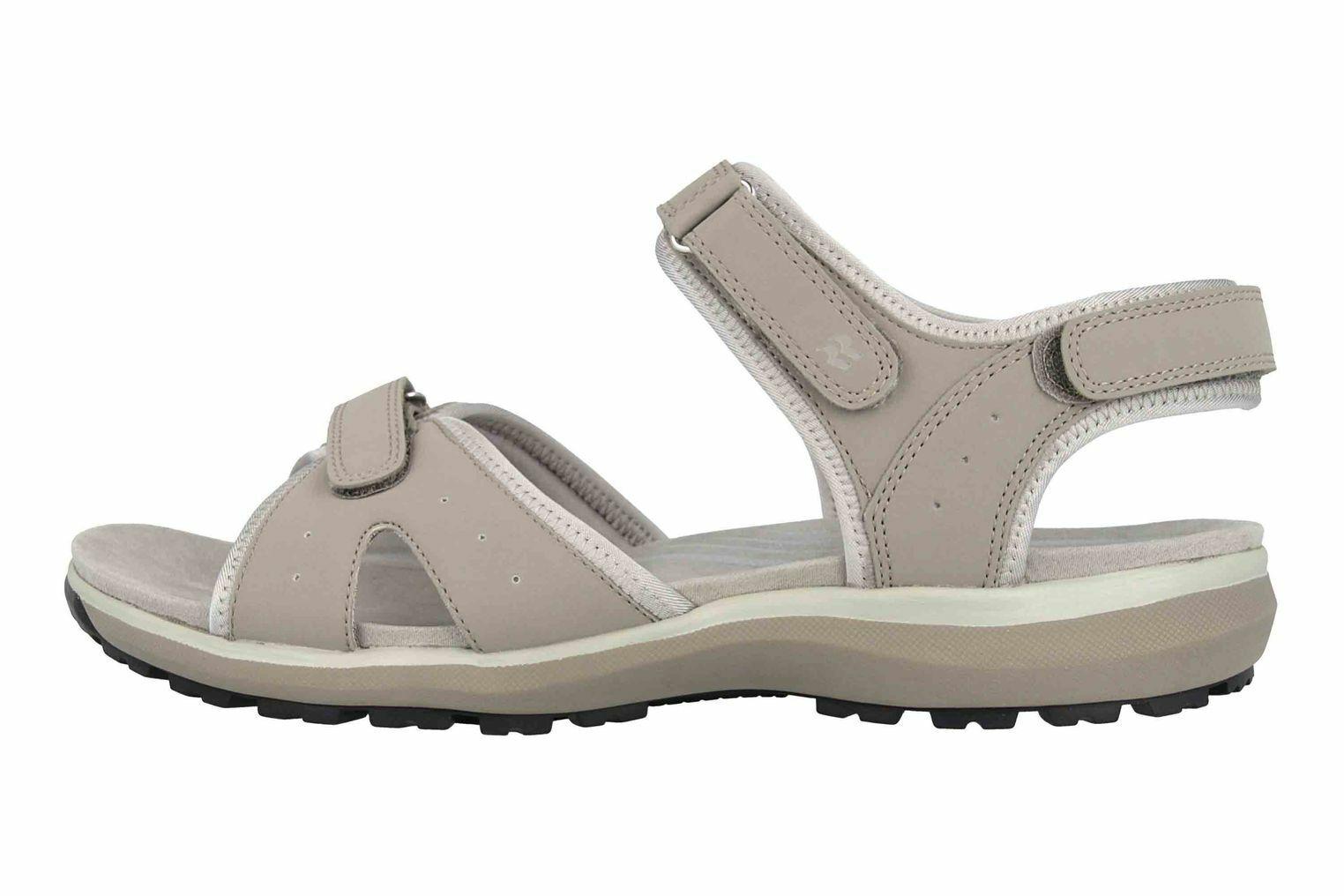 Romika Olivia 07 Sandalen in Übergrößen Grau 78307 78 720 große Damenschuhe