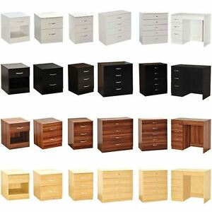 Image Is Loading Riano Drawer Chest Dressing Table Bedside Storage Cabinet