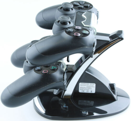 Dual Charger für PS4 Controller Doppel Lade Station Dock