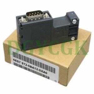 1PC SIEMENS 6ES7972-0BA12-0XA0 6ES79720BA120XA0 DP Connector New
