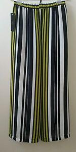 Palazzo Lime Ic Connie S Taglia Pantaloni Striped Nwt L K Retail By 98 qx66wHrIX