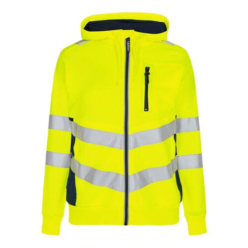 ENGEL Workwear Safety Damen Sweatshirt Warnschutzjacke Warnschutz Jacke